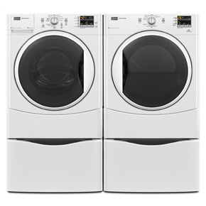 MAYTAG FRONT LOAD WASHER & DRYER MHWE201YW