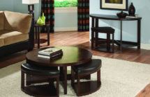 Brussel Ottoman Coffee-End Table
