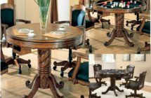 Three in One Family Dining/Game Table