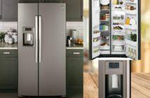 GE 25 Cu. Ft. Refrigerator – Slate