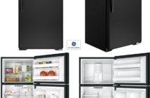 GE 18 CFt Top Freezer – BLK