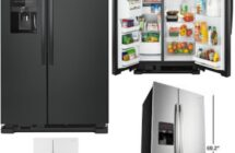 Amana 24.6 cu. ft.  in  White – Black – Stainless