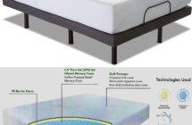 Edge 10″ PureGel Memory Foam Mattress