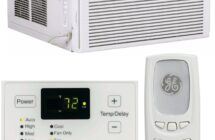 GE 12,000 BTU Energy Star 115 Volt Wi-Fi Window Air Conditioner with Remote